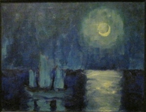 Emil Nolde Moonlit Night, 1914